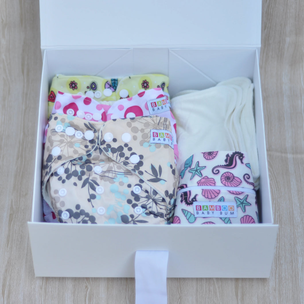 Personalised Nappy Gift Pack - Medium