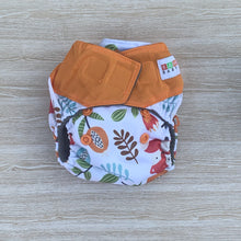 Load image into Gallery viewer, Bamboo Microfibre Newborn Cloth Nappy - Fox & Flora