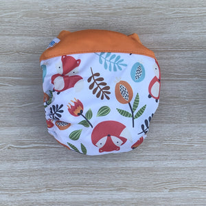 Bamboo Microfibre Newborn Cloth Nappy - Fox & Flora
