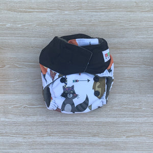 Bamboo Microfibre Newborn Cloth Nappy - Fox & Bear