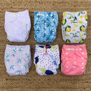 5 PACK NAPPIES OSFA - BUY 5 GET 1 FREE