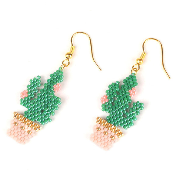 Cactus Handmade Earrings