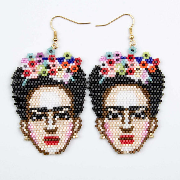 Frida Earrings Handmade