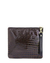 Load image into Gallery viewer, The Adrienne Wristlet: Embossed Leather Collection