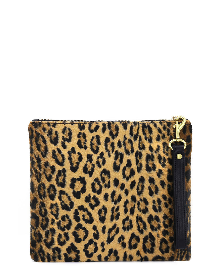 The Adrienne Wristlet: Faux Fur Collection