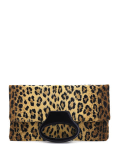 The Olivia in Leopard Print Faux Fur