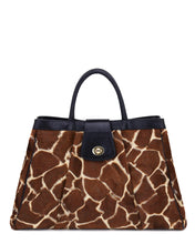 Load image into Gallery viewer, The CHERIE - giraffe or multi-leopard luxe faux fur