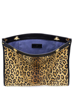The DIANE - leopard or giraffe luxe faux fur