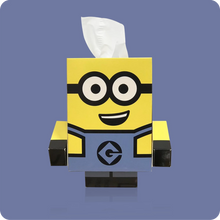 Load image into Gallery viewer, Minions Cube Tissue Box - Smart Care