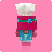 Load image into Gallery viewer, Trolls Cube Tissue Box - Case Pack 24 - Smart Care