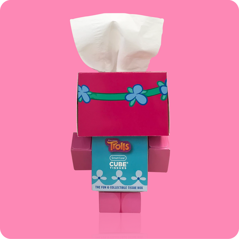 Trolls Mini Cube Tissue Box - Smart Care
