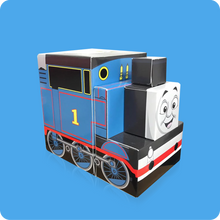 Load image into Gallery viewer, Thomas & Friends Cube Tissue Box - Smart Care