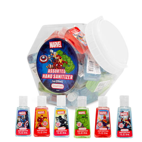 Marvel™ Hand Sanitizers with Jar | 48 Pack