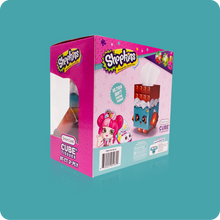 Load image into Gallery viewer, Shopkins Cube Tissue Box - Case Pack 24 - Smart Care