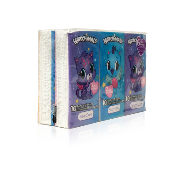 Hatchimals Pocket Tissue 6 pack