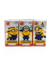 Load image into Gallery viewer, Smart Care Minions Pocket Facial Tissues 6 Pack (new) - Smart Care