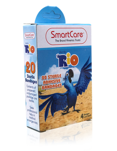Smart Care Rio Bandages 20 Count - Smart Care