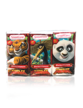 Load image into Gallery viewer, Smart Care Kung Fu Panda Pocket Facial Tissues 6 Pack - Smart Care