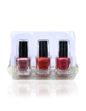 Load image into Gallery viewer, IGlow Nail Polish 3Pk (Shades - Rose, Candy, Punch) - Smart Care