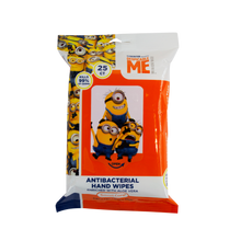 Load image into Gallery viewer, Smart Care Minions Antibacterial Wipes 25 Count