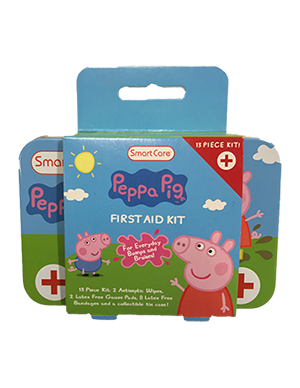 Smart Care Peppa Pig Collectible First Aid Kit - Smart Care