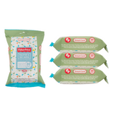 Smart Care Fisher Price Pacifier & Toy Wipes - (3/6 Pack)