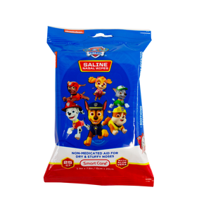 Smart Care Paw Patrol Saline Nasal Wipes 25 Count