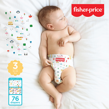 Load image into Gallery viewer, Smart Care Fisher Price Diapers - Size 3 (Count 76, 208)