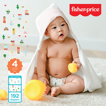 Load image into Gallery viewer, Smart Care Fisher Price Diapers - Size 4 (Count 70, 192)