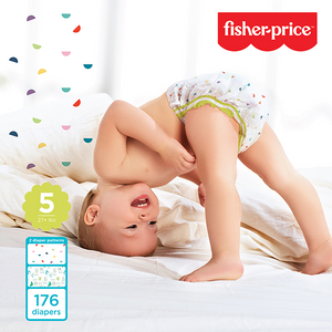Smart Care Fisher Price Diapers - Size 5 (Count 64, 176)