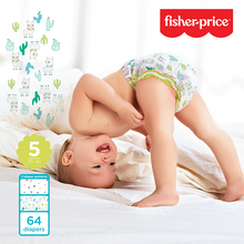 Load image into Gallery viewer, Smart Care Fisher Price Diapers - Size 5 (Count 64, 176)