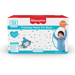 Smart Care Fisher Price Training Pants | 3T4T Boys - 112 Counts