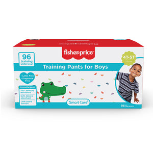 Smart Care Fisher Price Training Pants | 4T5T Boys - 96 Counts
