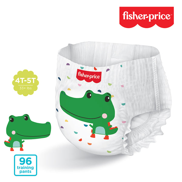 Fisher-Price Training Pants | 4T5T Boys - 96 Counts