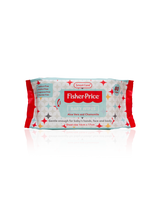 Fisher-Price Baby Wipes 80 Count - 12Pack