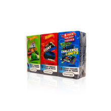 Load image into Gallery viewer, Smart Care Hot Wheels Pocket Tissue 6 pack - Smart Care