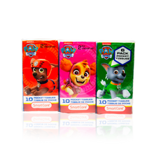 Load image into Gallery viewer, Smart Care Paw Patrol Pocket Tissue 6 Pack - Smart Care