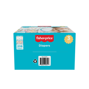 Smart Care Fisher Price Diapers - Size 3 (Count 76, 208)