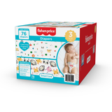 Fisher-Price Diapers - Size 3 (Count 76, 208)