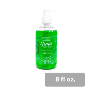 Smart Care Liquid Hand Soap (Aloe Vera) - 8 Fl Oz.