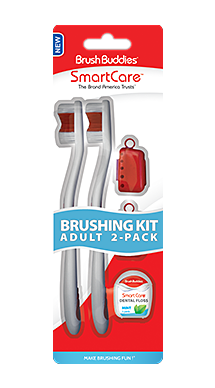 Smart Care Adult Brushing Kit 2 Pack - Smart Care