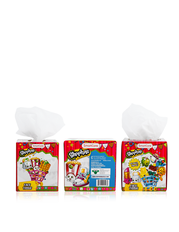 Smart Care Shopkins Tissue Box - Smart Care