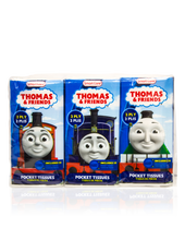 Load image into Gallery viewer, Smart Care Thomas & Friends Pocket Facial Tissues 6 Pack - Smart Care