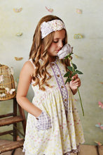 Lemon Bloom Dress with Shorties