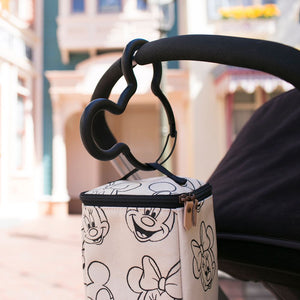 Mickey Stroller Hooks in Black
