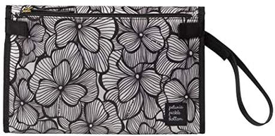 Bordeaux Blooms Diaper Clutch