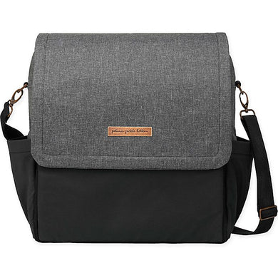 Boxy Backpack - Graphite and Black