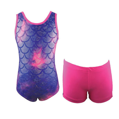 Mermaid Leotard Hot Pink