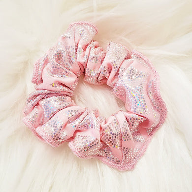Pink Mermaid Scrunchie