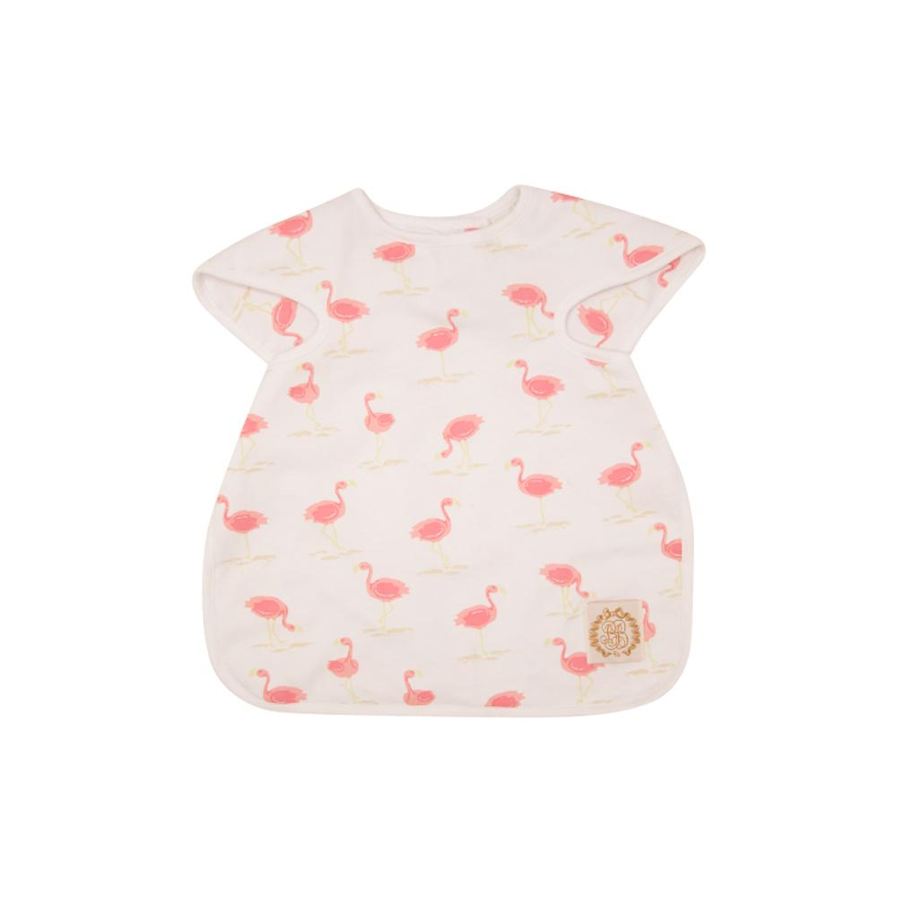 Big Bite Bib in Flarda Flamingo
